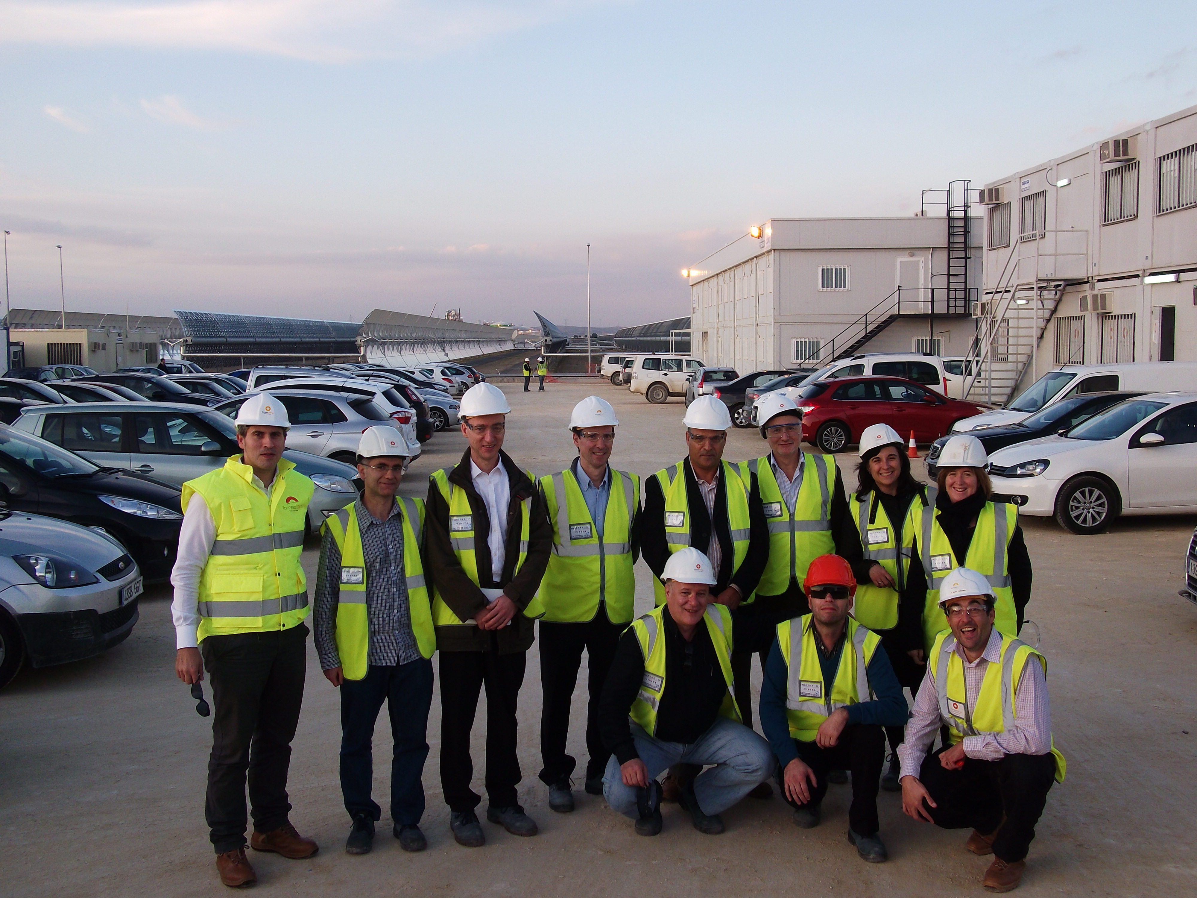 Mainbot team at Valle facilities